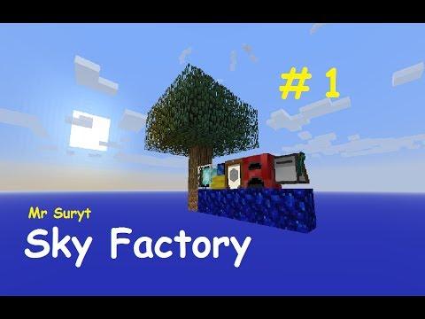 Minecraft. Sky Factory. Ep 1. One Tree.