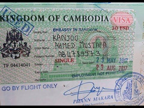 Visa experiences on Pakistan passport in Bangkok
