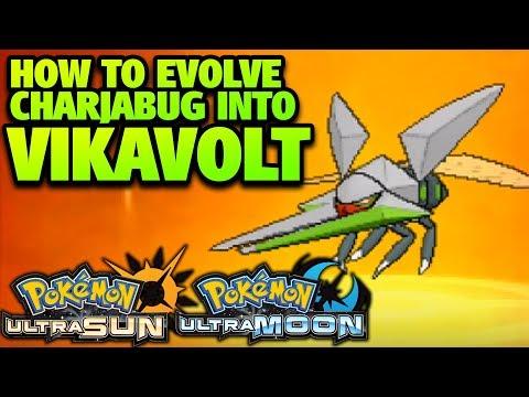 How to Evolve Charjabug into Vikavolt in Pokémon Ultra Sun and Moon