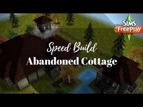 Abandoned Cottage | Speed Build | Sims FreePlay