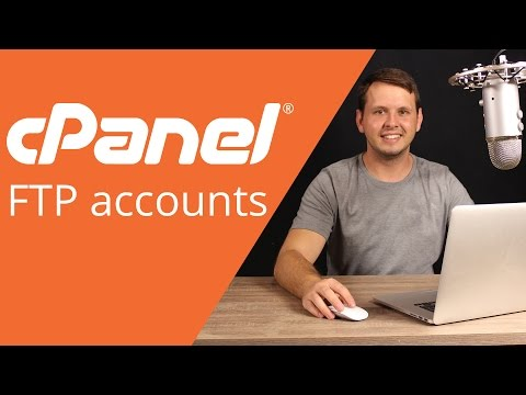 cPanel beginner tutorial 4 - uploading files with ftp