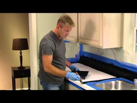 Rust-Oleum Countertop Transformations Application Video
