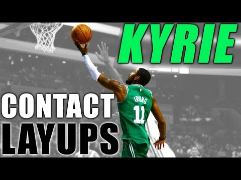 3 Kyrie Irving Layups For CONTACT & PHYSICAL DEFENDERS!