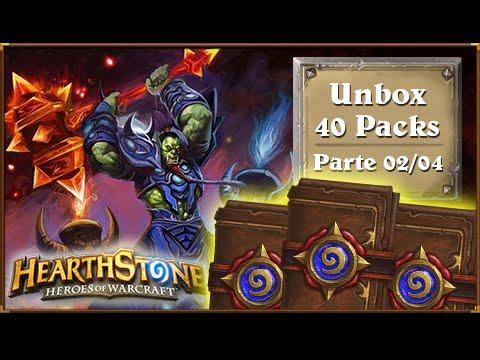 HearthStone: Unbox 40 Packs Clássico - Deu Ruim DE NOVO ;-; [Parte 02/04]