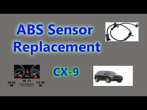 ABS Sensor Replacement Mazda CX9