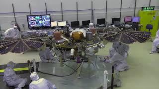 Solar Array Tested for Mars InSight Lander | Video