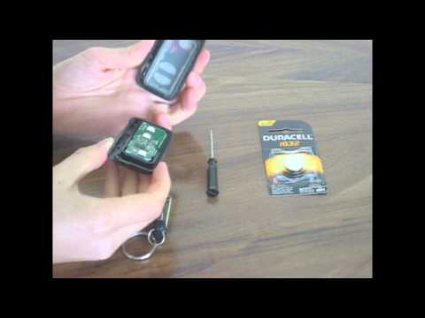 How to Replace the Battery in a Prius Key Fob