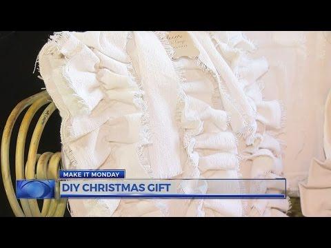 Make it Monday: DIY drop cloth pillows
