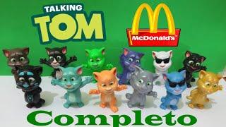Full Virtual Set Of 2016 Talking Tom And Friends Mcdonalds Happy