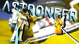 DISCOVERING the CRASHED TELESCOPE! - Astroneer Gameplay