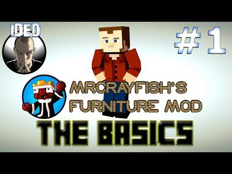 Mr Crayfish's Furniture Mod Tutorial - The Basics - Minecraft Mod