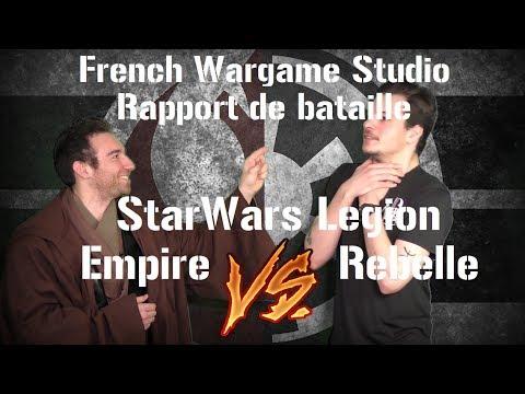 FWS -  Rapport de bataille didactique StarWars Legion