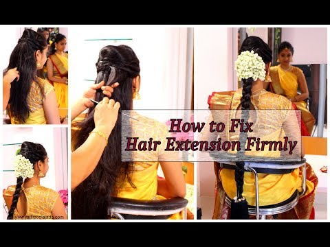 How to Arrange Hair Extension Firmly