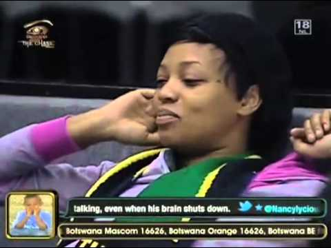 The pain of a Nominated Fatima- Big Brother The Chase