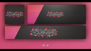 Free Gfx Template Clean Hipster Style You Banner Avatar Logo Twitter Header 2016