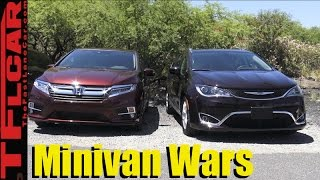 2018 Honda Odyssey vs Chrysler Pacifica Minivan Matchup Review: The Minivan Wars Are Back!