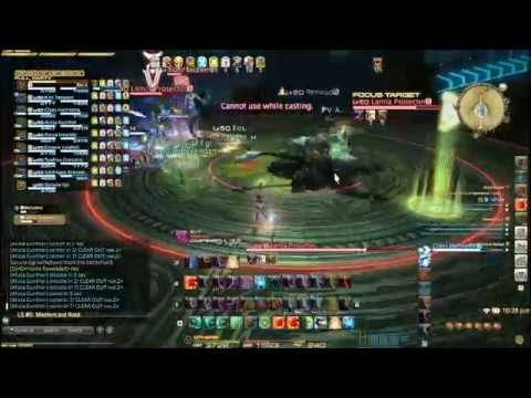 Final Fantasy XIV : Second Binding Coil of Bahamut turn 2, summoner PoV