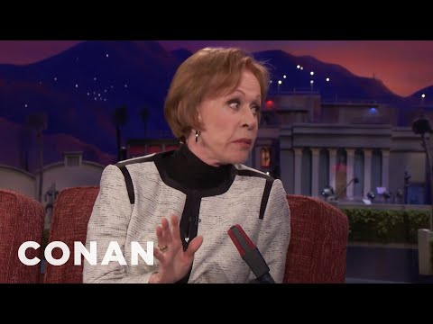 "Carol Burnett Apologized For Her Performance In ""The Front Page""  - CONAN on TBS"