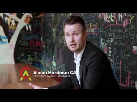 The passport to an international career: Simon Hardman CA