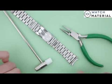 How to Remove U-Shaped Watch Pin