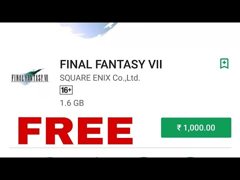 Final Fantasy 7 Game Free Download and install for android mobile 2018