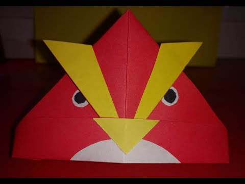 How to Make a Paper Angry Bird