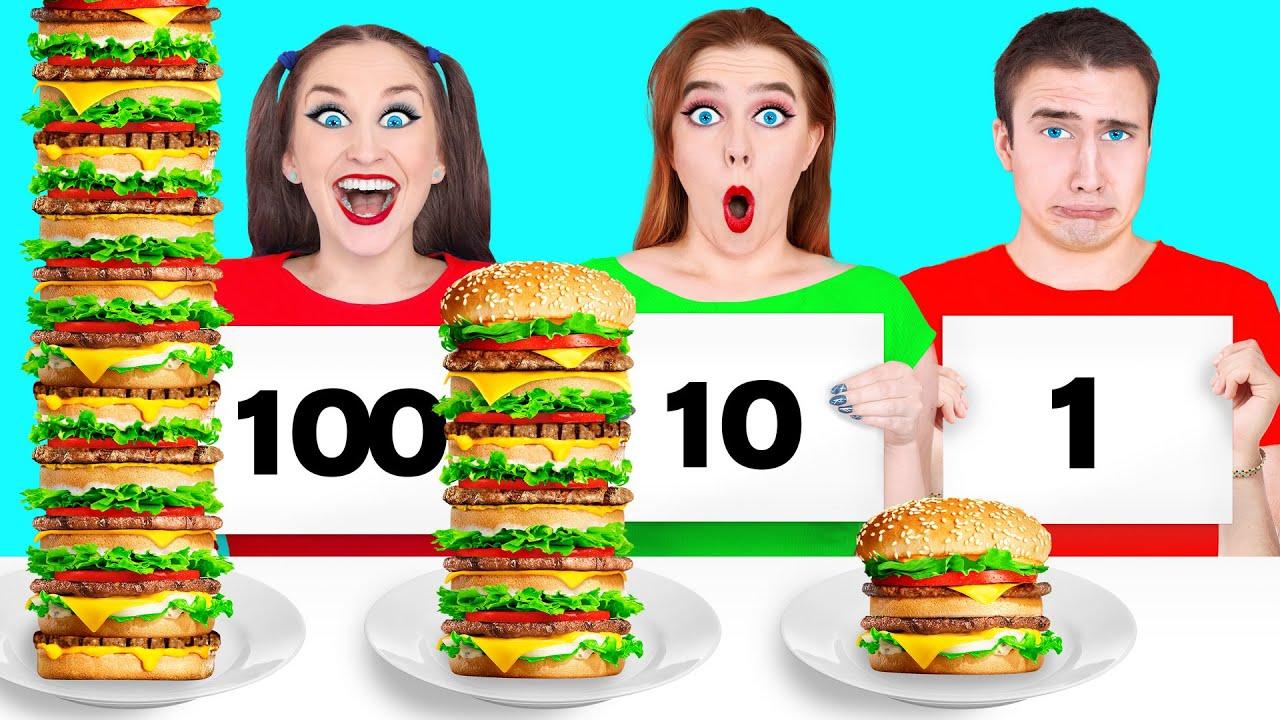 100 LAYERS FOOD CHALLENGE #2