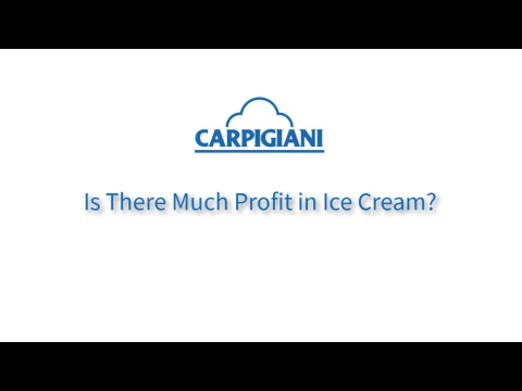 Is There Much Profit in Ice Cream? Carpigiani UK