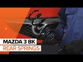 How to replace rear springs on MAZDA 3 BK TUTORIAL | AUTODOC