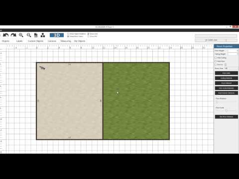 Create advanced floor and ceiling options in ECDESIGN 4