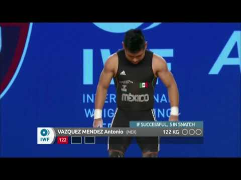 Men's 62 kg A Session Snatch - 2017 IWF Weightlifting World Championships (WWC)