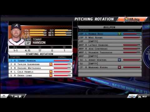 My Franchise Roster l MLB 12 The Show