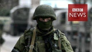 Military power: Russia vs Ukraine in 60 seconds - BBC News