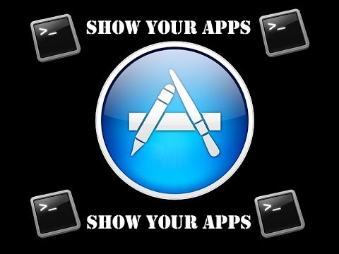 How to show downloaded Apps on OS X
