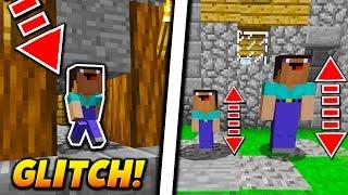 MINI PLAYER MOD GLITCH! - Minecraft SKYWARS TROLLING (BANNABLE MOD?)