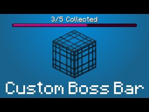 Minecraft - Custom Boss Bar using Wither Spawners