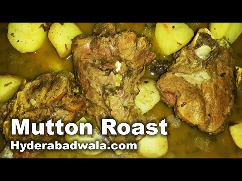 Mutton Roast Recipe Video – How to Make Hyderabadi Mutton Roast at Home – Easy & Simple
