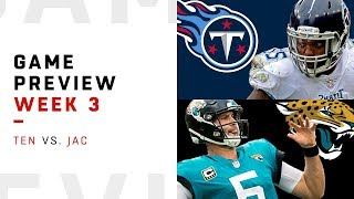 Tennessee Titans vs. Jacksonville Jaguars | Week 3 Game Preview | NFL Playbook