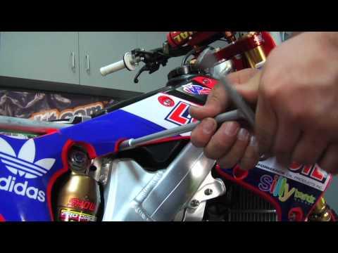How To: Remove Honda Rear Shock - TransWorld MOTOcross