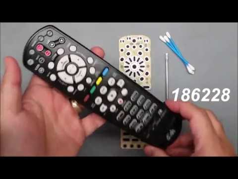 How to fix the buttons in Dish Network Remote  40.0 2G UHF 186228