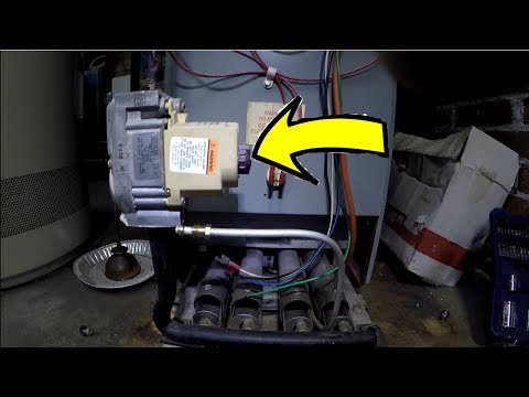 How To Replace Furnace/Boiler Gas Valve | THE HANDYMAN |