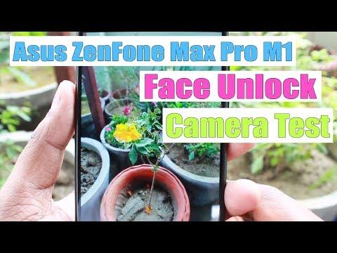 Asus Zenfone Max Pro Camera Test & Face Recognition | Face Unlock Test | Camera Photo Sample