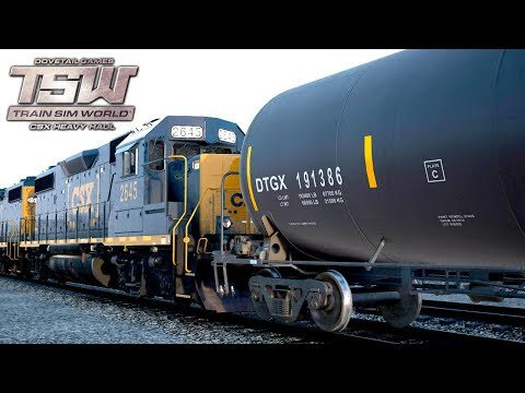 TSW: CSX Heavy Haul - Yard Work