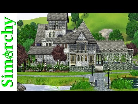 The Sims 3 House Tour - Sunset Valley Base Game Homes Part 12 Featuring Goth Family! Bella Mortimer