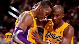 Thanking Kobe for calling you 'soft' won't make him like you - Bomani to Dwight Howard | High Noon