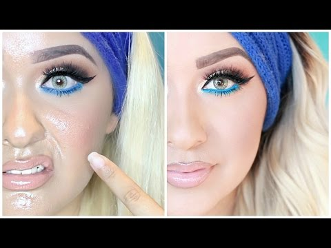 HOW TO PREVENT YOUR MAKEUP FROM GETTING OILY | LIFE CHANGER!!
