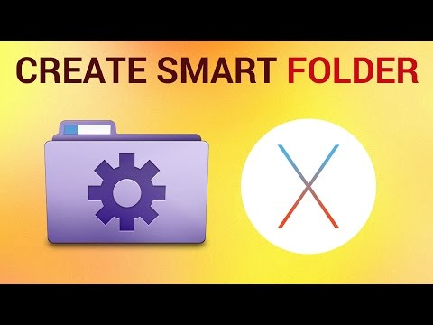 How to Turn Folder On Your Mac Into Smart Folder