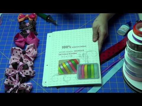 Introduction to Grosgrain Hair Bow Ribbon