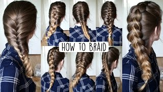 How To Braid Your Own Hair For Beginners How To Braid Braidsandstyles