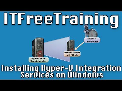 Installing Hyper-V Integration Services on Windows